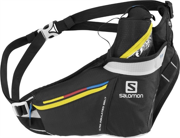 Salomon Ultra Insulated Belt - čierno-žltá