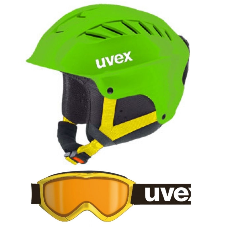 Uvex Junior Set - zelená - S/M