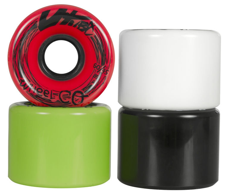 Utube Longboard Wheels 60mm / 78A (4ks) mix