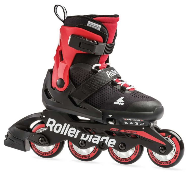 Rollerblade MicroBlade Black Red - 28/32