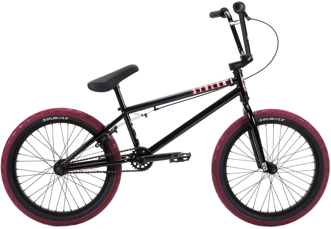 Stolen Casino 20 inch 2020 BMX Freestyle Bike Black - L