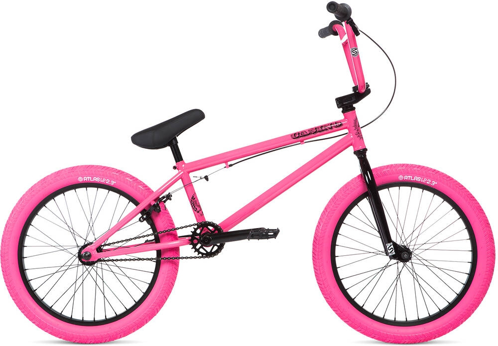 Stolen Casino 20 inch 2020 BMX Freestyle Bike Cotton Candy Pink - L