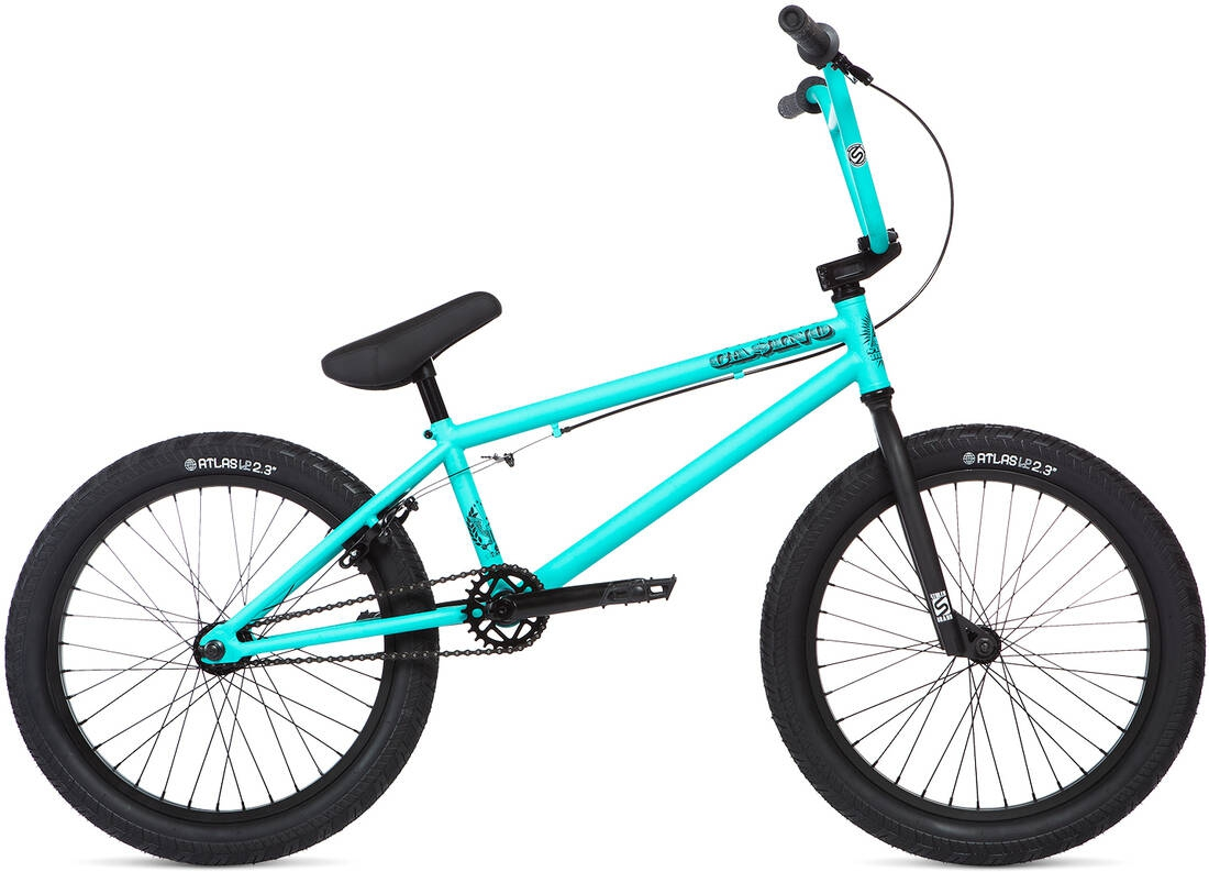 Stolen Casino 20 inch 2020 BMX Freestyle Bike Caribbean Green - L
