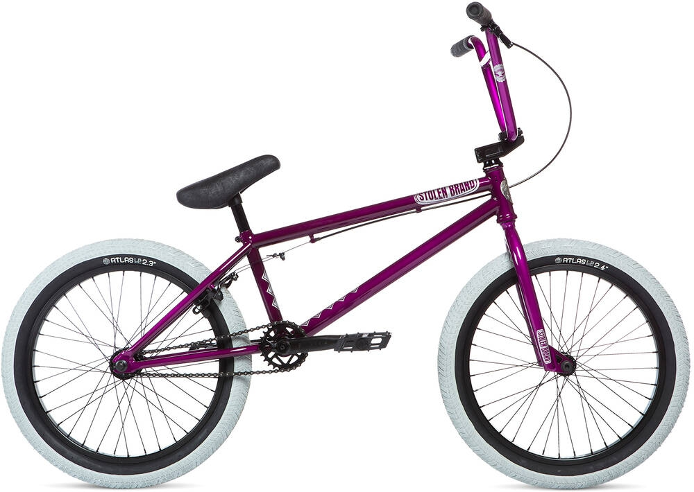 Stolen Heist 20inch 2020 BMX Freestyle Bike Deep Purple - fialová